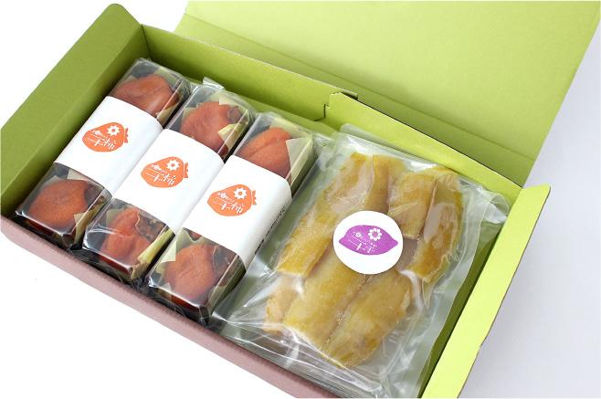 詰め合わせセット干芋+干柿